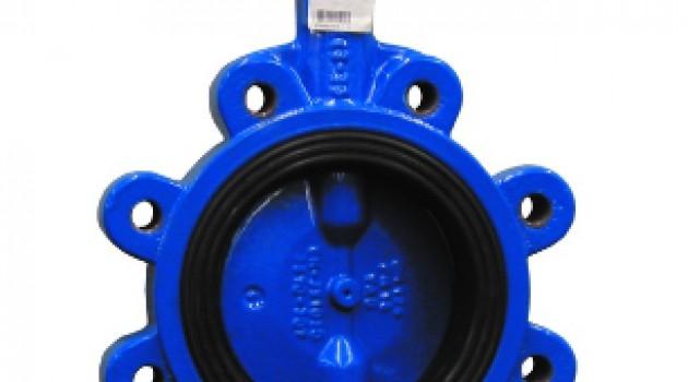 VAG CEREX 300-L Поворотный затвор диск чугун - L-тип (с резьбовыми проушинами)