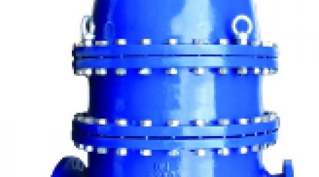 VAG KOS Клиновая задвижка с невыдвижным шпинделем металлическое уплотнение - длинная строительная длина - с электроприводом