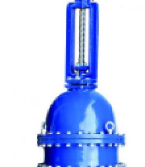 VAG KOS Клиновая задвижка с выдвижным шпинделем металлическое уплотнение - длинная строительная длина - с электроприводом