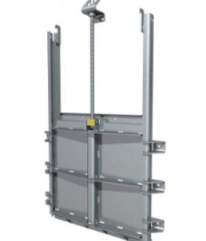 VAG EROX plus-O Щитовой затвор Запорная и регулирующая арматура с открытой рамой
