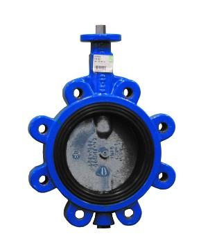 VAG CEREX 300-L Поворотный затвор диск нерж.сталь - L-тип (с резьбовыми проушинами)